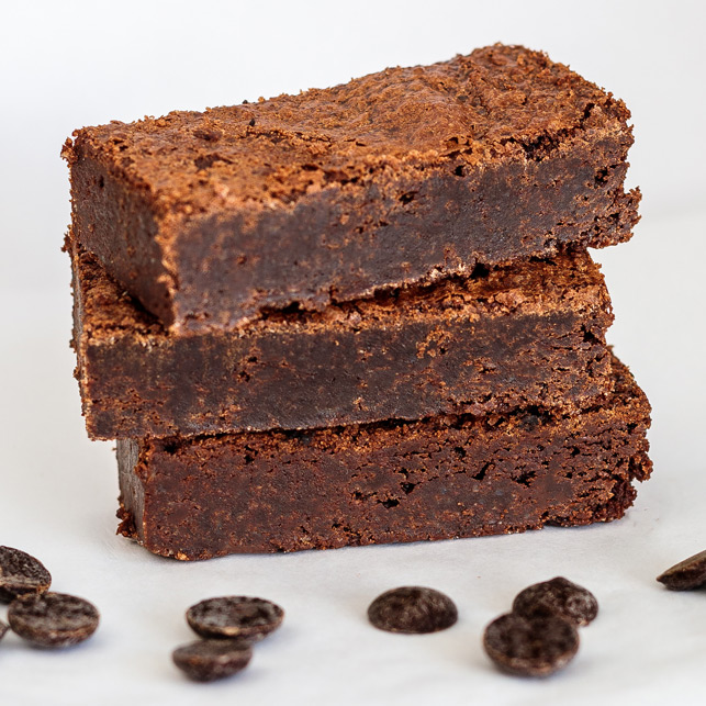 Vegan Original brownie
