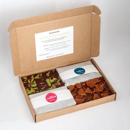 Zelf samenstellen - 4 smaken brownies